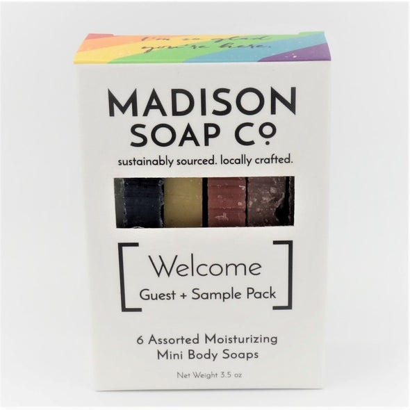 Madison Soap Company Welcome Guest Sample Pack