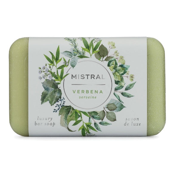Mistral Classic French-Milled Bar Soap 7oz 200g - Verbena