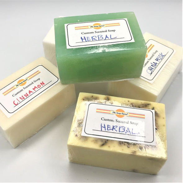 The Soap Opera Custom Bar Soap 4oz (3 Count)