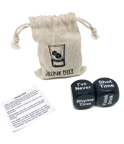 Drunk Dice (Set of 2)