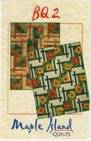 BQ2 Quilt Pattern by Maple Island Quilts