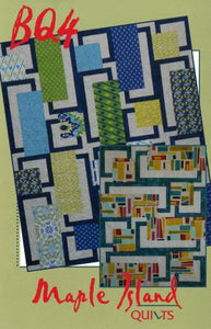 BQ4 Quilt Pattern by Maple Island Quilts
