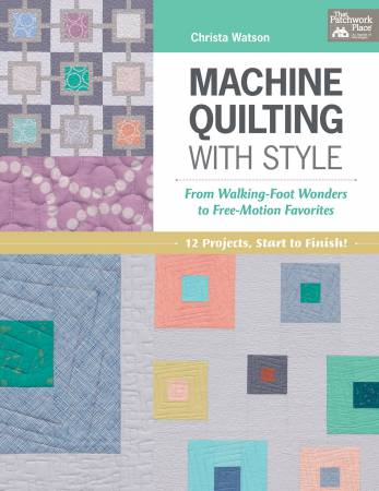 Christa Watson Machine Quilting