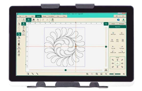 Handi Quilter Pro Stitcher Quilting Software