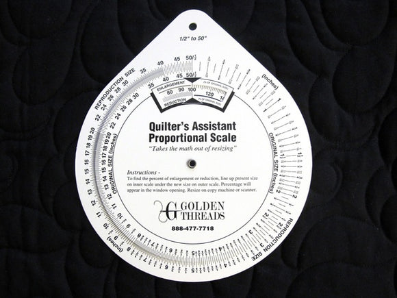 Quilter's Proportional Scale