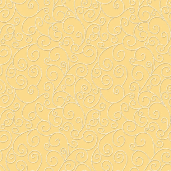 Sew Bee It -Embroidery Stitch - Yellow Frabric