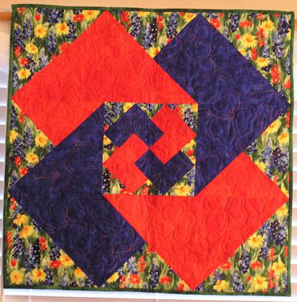 Spring Tricks Quilt Pattern by Cross Mountain Stitchery