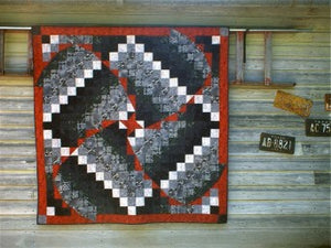 Whirlwind Tour Quilt Pattern by Cross Mountain Stitchery