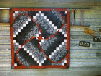 Whirlwind Tour Quilt Pattern by Cross Mountain Stitchery Kit