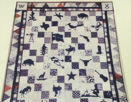 Wild Country Quilt Pattern by Myrna-Made Kit
