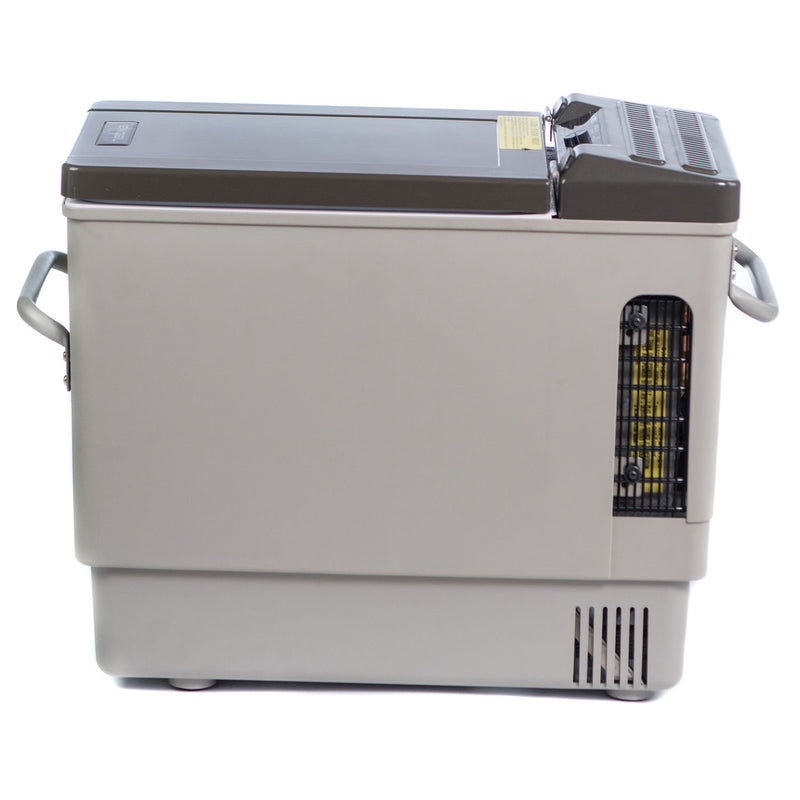 MT27F 22 quart portable top-opening 12/24V DC - 110V/120V AC fridge-freezer