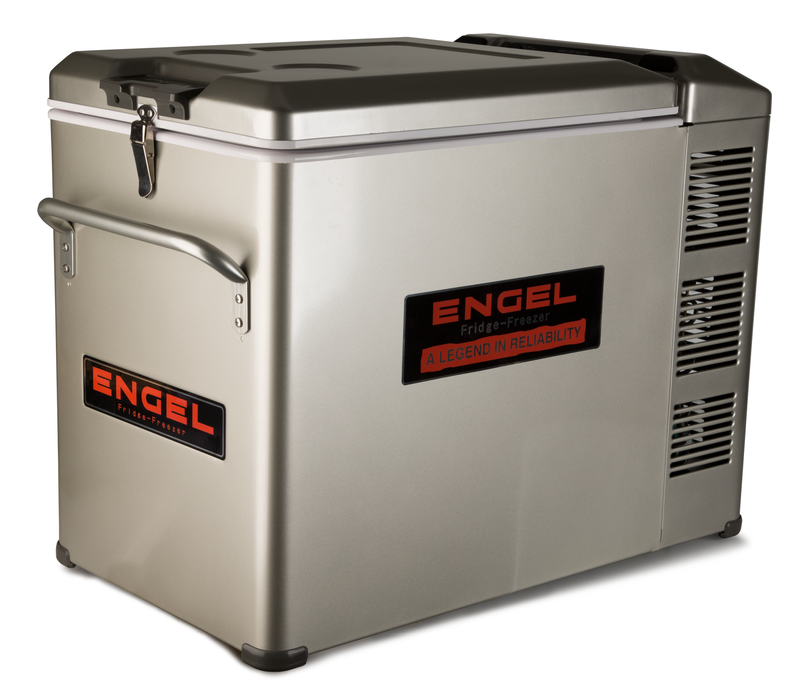 Engel MT45F-U1-P platinum series 12V/24V/120V top-opening portable AC/DC Fridge/Freezer