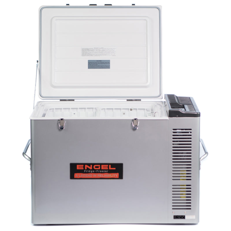 Factory Refurbished - MT80 84 quart portable top-opening 12/24V DC - 110V/120V AC fridge-freezer