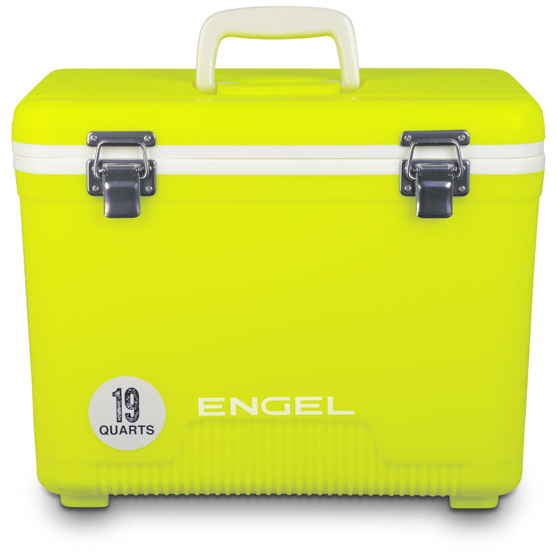 Engel 19 quart leak-proof air-tight storage drybox, cooler and lunch box