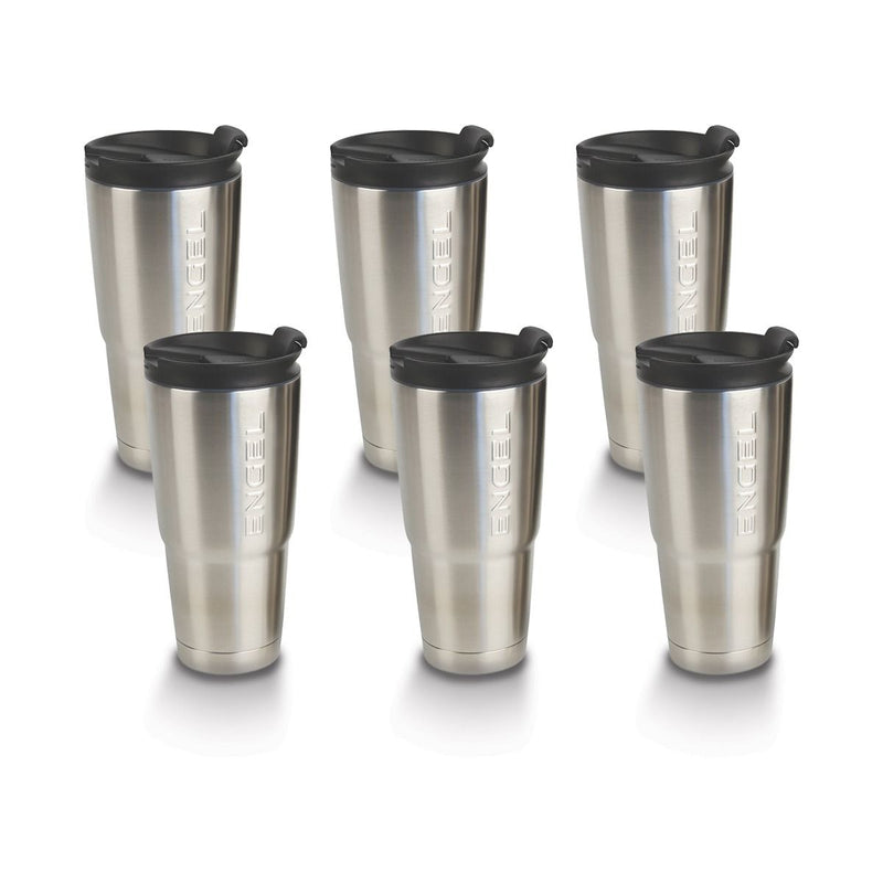 Engel 22oz Stainless Steel Vacuum Insulated Tumbler 6 Pack