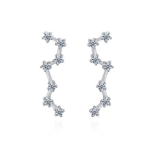 Constellation Crawler Earrings