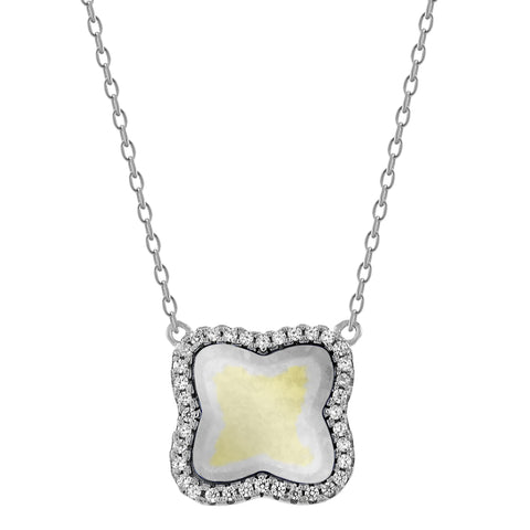 Mother of Pearl Navarre Necklace