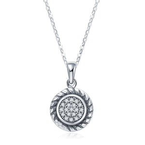 Circle Weave Necklace