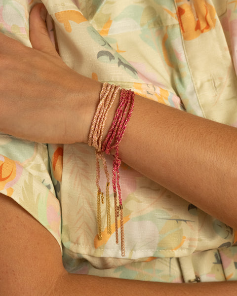 Wrap + Dangle Bracelet
