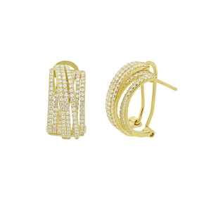 Interlock Earrings