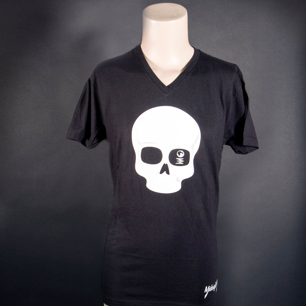 Midnight Machete Back Bones Tee Front