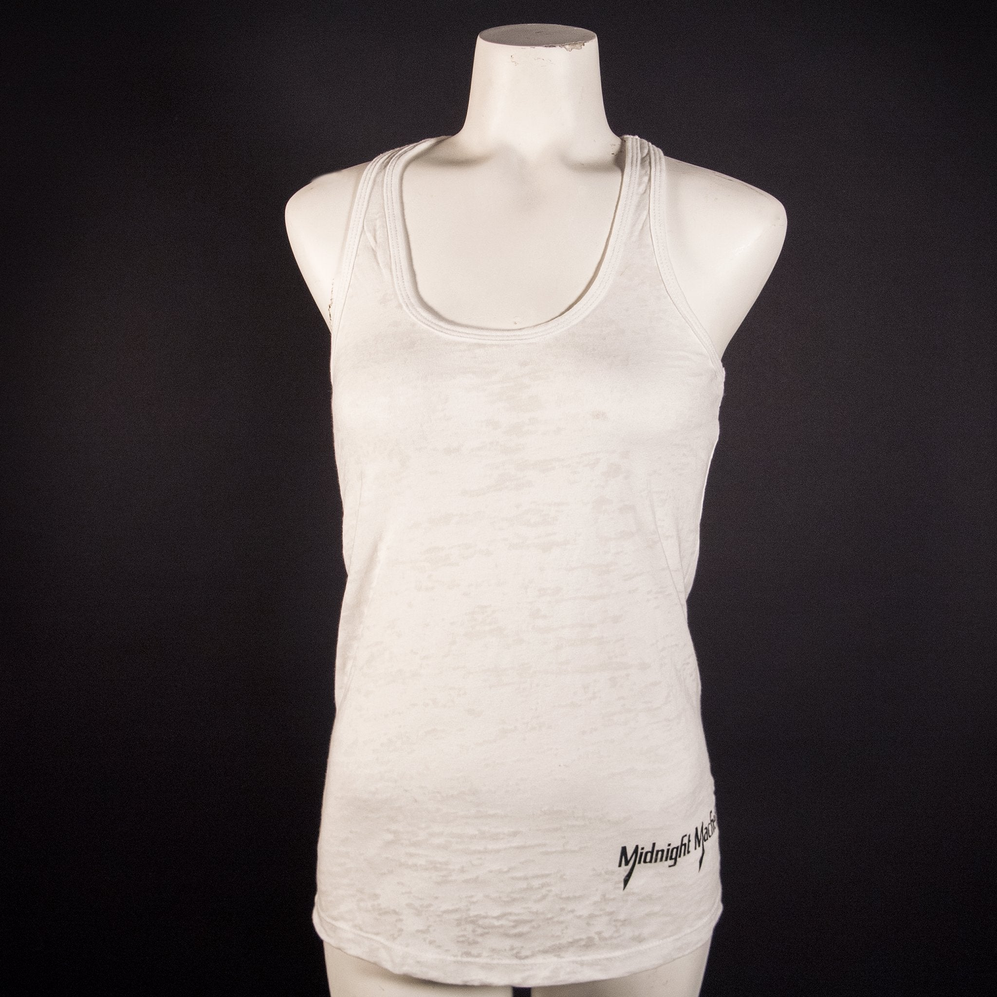 Ladder Back Ladies Burnout Tank