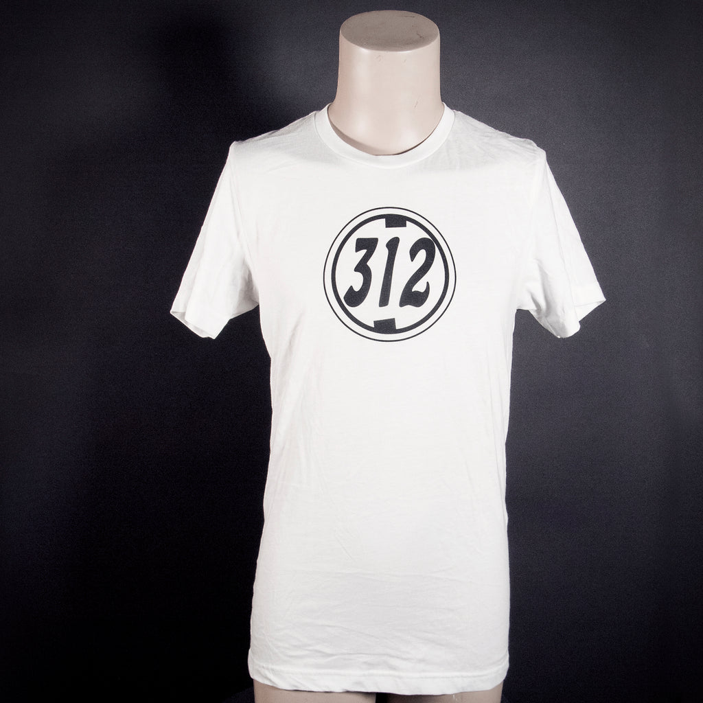 "Midnight Machete ""312"" T-Shirt - White"