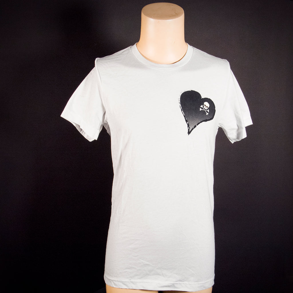 Midnight Machete Heart-n-Skull Shirt
