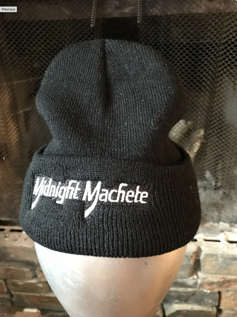 Midnight Shorty Skull Cap - Black Back