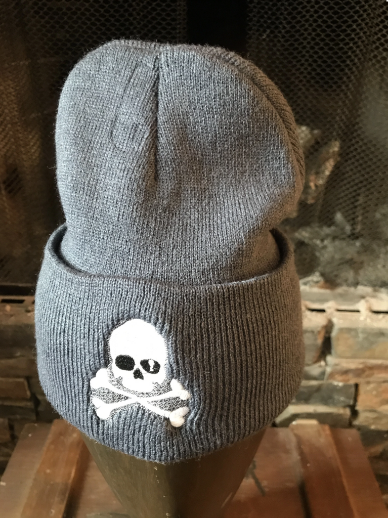 Midnight Shorty Skull Cap - Grey