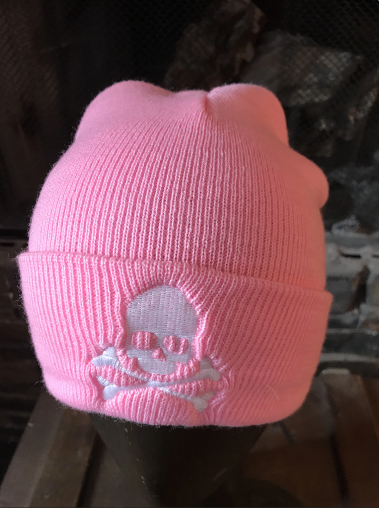 Midnight Shorty Skull Cap - Pink