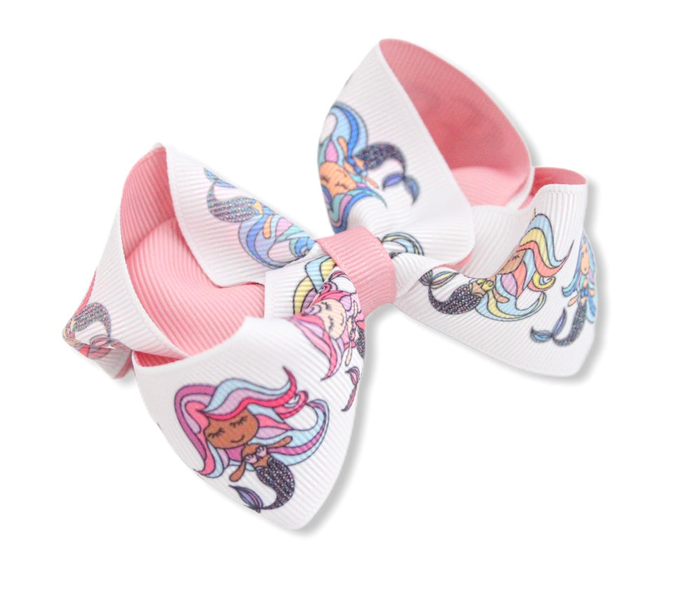 'Mermaids' Large Boutique Bows