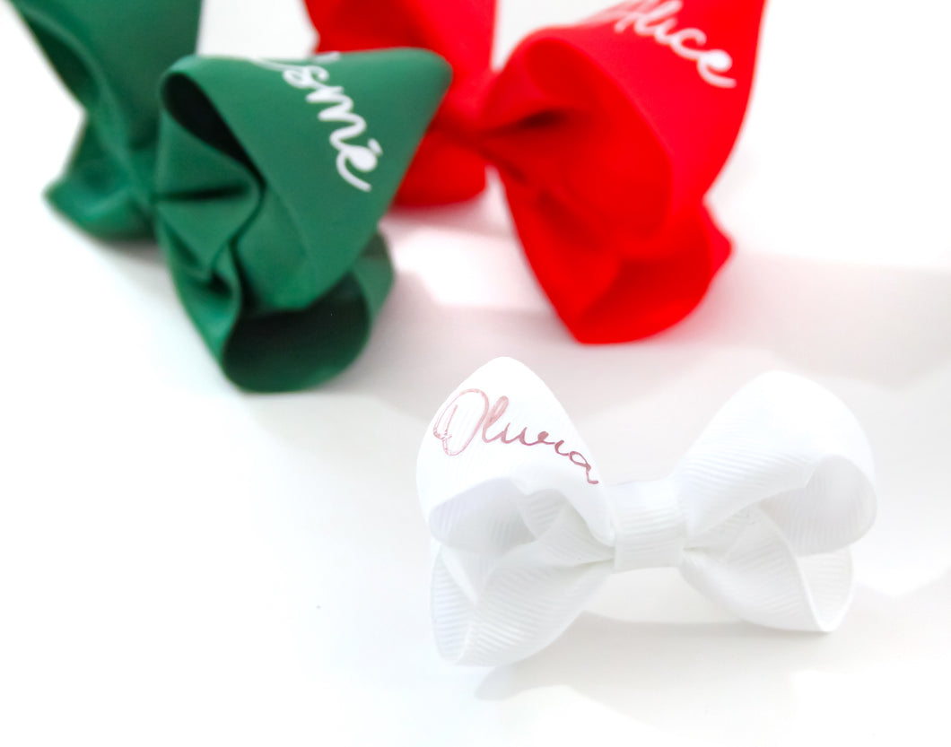 Personalised Mini Boutique Bow