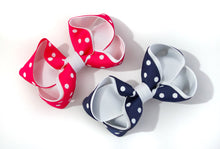 Load image into Gallery viewer, Polka Dot Small Boutique Bows