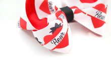 Load image into Gallery viewer, Personalised Heart Bows - all sizes
