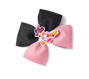 Witchy Minnie Large Double Pinch Bow