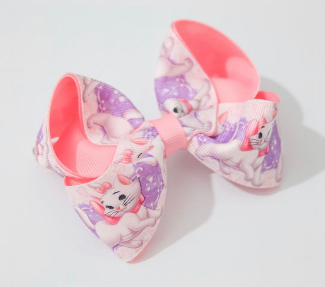 Marie print large boutique bow