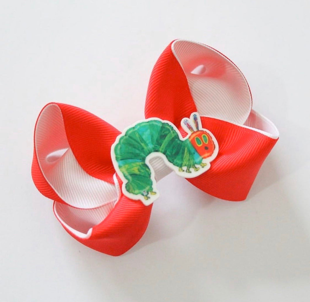 The Very Hungry Caterpillar Large Boutique Bow