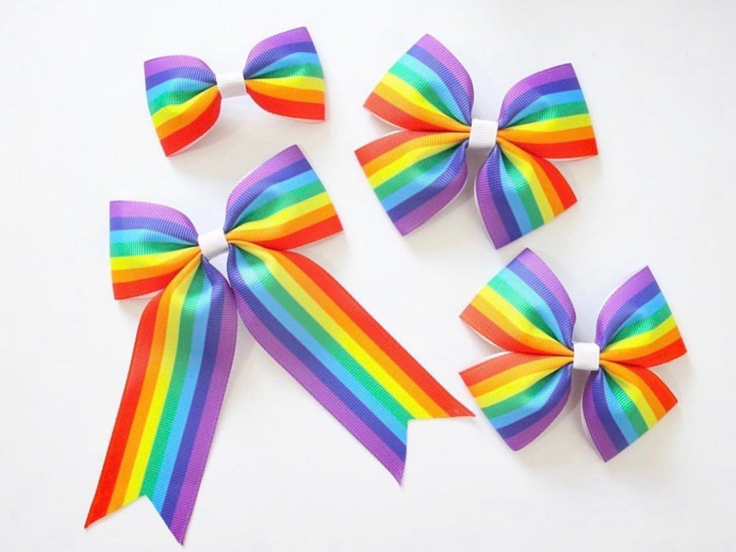 Rainbow Stripe - All Sizes