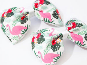 Tropicana Print XL Pinch Bow
