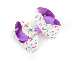 'Sprinkles' Large Boutique Bow
