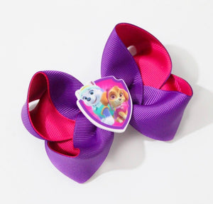 Paw patrol large boutique bow