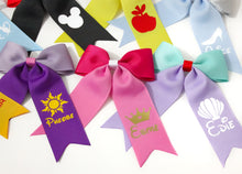 Load image into Gallery viewer, Personalised & Inspired Ponytail Bows