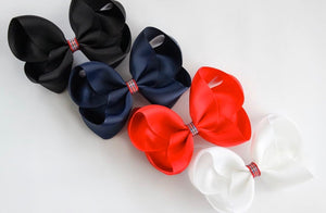 'A touch of Tartan' large boutique bows