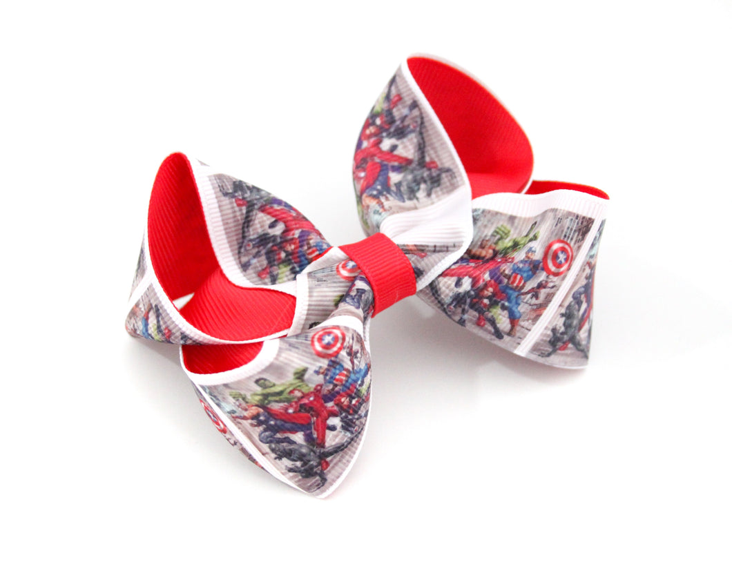 Marvel large boutique bow