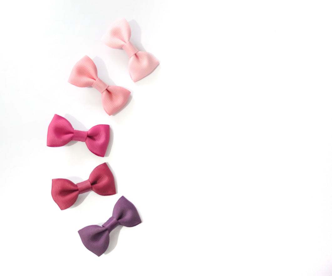 Mini Bows - Clips, Bobbles & Headbands