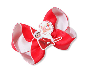 Elf on the shelf Large Boutique Bow