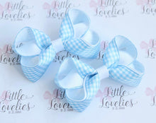 Load image into Gallery viewer, Gingham Small Boutique Bows