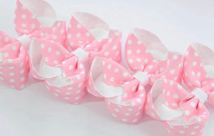Pink Polka Dot  - All Sizes