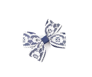 Lace Double Pinch Bows - Clips and headbands